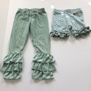 Other - 2 pairs Matilda Jane-pants & shorts, Sz 4